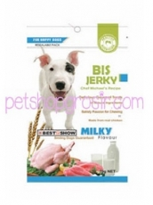 Snack Anjing BIS Jerky Milk 70gr