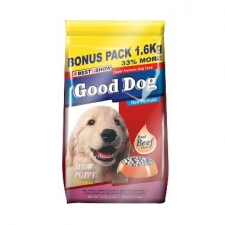 Makanan Anjing Best In Show Good Dog Dry Food Show Puppy 1.6kg