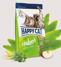 Makanan Kucing Happy Cat Supreme Indoor Weide-Lamm (Farm Lamb) 4kg