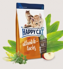 Makanan Kucing Happy Cat Supreme Atlantik-Lachs (Atlantic Salmon) 4kg