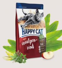 Makanan Kucing Happy Cat Supreme Voralpen-Rind (Bavarian Beef) 1.4kg