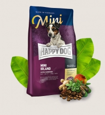 Makanan Anjing Happy Dog Supreme - Mini Adult Irland (Salmon & Rabbit) GLUTEN FREE 1kg