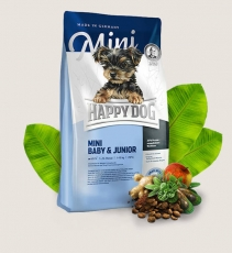 Makanan Anjing Happy Dog Supreme - Mini Baby & Junior GLUTEN FREE 1kg