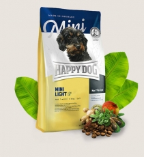 Makanan Anjng Happy Dog Supreme - Mini Adult Light Low Fat GLUTEN FREE 4kg