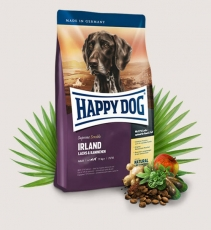 Makanan Anjing Happy Dog Supreme Sensible - Irland (Salmon & Rabbit) Gluten Free 4kg