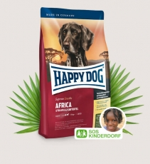 Makanan Anjing Happy Dog Supreme Sensible - Africa (Ostrich) Grainfree 4kg