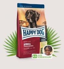 Makanan Anjing Happy Dog Supreme Sensible - Africa (Ostrich) Grainfree 4kg