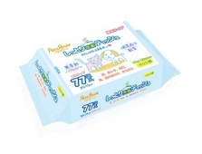 Tissue Basah Petz Route Wet Tissue 20 x 15cm Isi 77 pcs