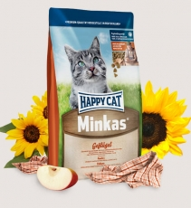 Makanan Kucing Happy Cat Minkas Poultry 4kg