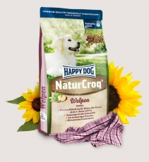 Makanan Anjing Happy Dog - NaturCroq Puppies 4kg