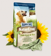 Makanan Anjing Happy Dog - NaturCroq Lamb & Rice 15kg