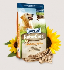 Makanan Anjing Happy Dog - NaturCroq Beef & Rice 4kg