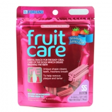 Snack Anjing Forcans Fruit Care Strawberry SS 50gr