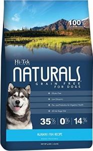 Makanan Anjing Hi-Tek Naturals Grain Free Alaskan Fish 5lbs