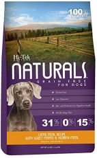Makanan Anjing Hi-Tek Naturals Grain Free Lamb Meal with Sweet Potato and Herring Meal 15lbs