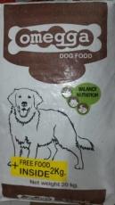 Makanan Anjing Kering Omegga Dog 22kg