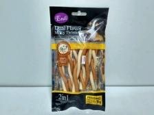 Snack Anjing Endi Dual Flavor Milky Cheese Twist 80gr