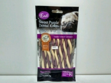 Snack Anjing Endi Dual Sweet Purple Vegetable Twist 80gr