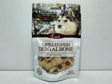 Snack Anjing Endi Grilled  Fish Milk Dental 95gr