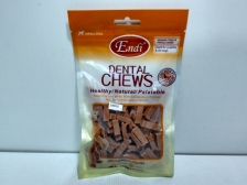 Snack Anjing Endi Dental Chews Chicken Cookies 100gr