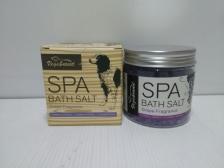 Bubuk Spa Hewan Spa Grape Fragrance Bubble Bath Salt 200gr