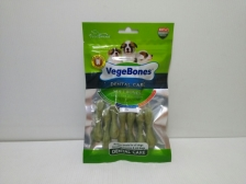 Snack Anjing Vegebones Dental Care Soft Bones 60gr