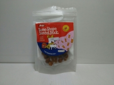 Snack Anjing Budge Chicken Flavor Bone Shape Dental Stick 60gr
