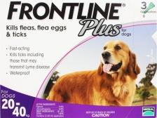 Obat Kutu Anjing Frontline Plus Dog L 20-40kg
