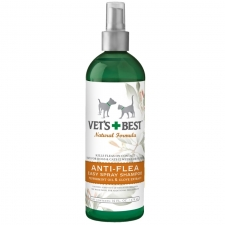 Vet's Best Natural Anti-Flea Easy Spray Shampoo 16oz