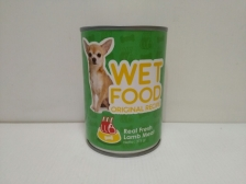 Makanan Basah Anjing Helotage Wet Food Original Recipe Lamb 375gr