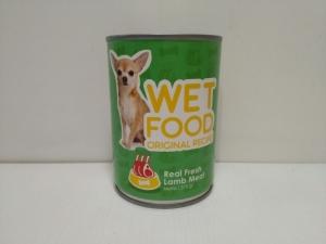 Makanan Basah Anjing Helotage Wet Food Original Recipe Lamb 375gr