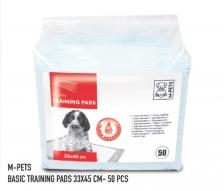Underpad M-Pets Puppy Training Pads S 33cm x 45cm 50pcs