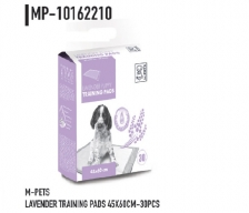 Underpad M-Pets Lavender Puppy Training Pads M 45cm x 60cm 30pcs