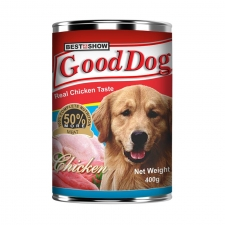 Best In Show Good Dog Real Chicken Can 400gr