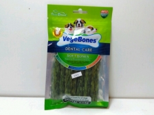 Snack Anjing Vegebones Dental Care Puffy Meaty Stick 60gr