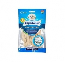 Snack Anjing Vegebones Hip & Joint Care Puffy Meaty Stick 60gr