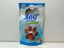Snack Anjing Vegebrand 360 Beef Soft Dental Bone 90gr