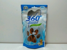 Snack Anjing Vegebrand 360 Chicken Soft Dental Bone 90gr