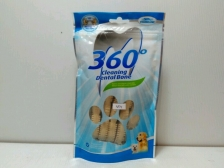 Snack Anjing Vegebrand 360 Milk Soft Dental Bone 90gr