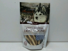 Snack Anjing Endi Grilled Dental Twist Lamb Flavour 95gr