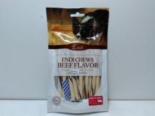 Snack Anjing Endi Milk & Beef Flavour Twist 100gr