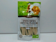 Snack Anjing Endi Milk & Dental Flavour Twist 100gr