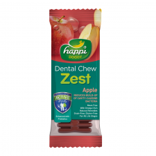 Snack Anjing Happi Doggy Dental Chew Zest Apple Gluten Free