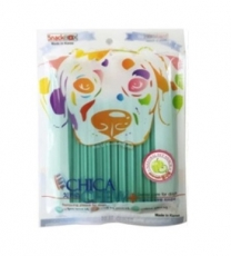 SNACK ANJING CHICA CHEW DENTAL 120GR GREEN APPLE