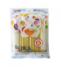SNACK ANJING CHICA CHEW DENTAL 120GR CHEESE