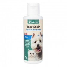 NATURVET TEAR STAIN TOPICAL REMOVER PLUS ALOE 4OZ