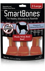 SNACK ANJING SMART BONES BEEF 3 LARGE