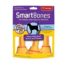 SNACK ANJING SMARTBONES TWIST BACON & CHEESE 3 LARGE