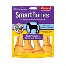 SNACK ANJING SMARTBONES BACON & CHEESE 4 MEDIUM