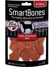 SNACK ANJING SMARTBONES BEEF 8 MINI